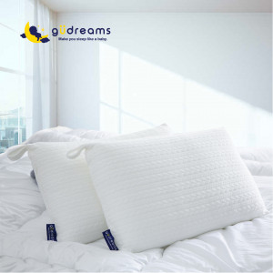 güdreams 澎澎好夢機洗枕-白色