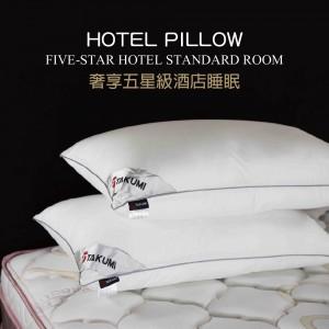 奢華飯店睡眠 高品質舒柔羽綿枕 / 枕頭 (單顆) 【PCW】