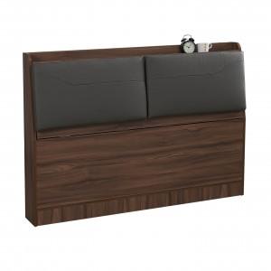 洛倫 下掀式皮革床頭箱 / 加大6尺 【HG】