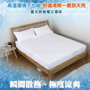 涼感纖維接觸冷感夏涼床包組【BD】