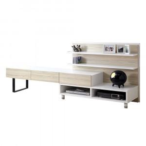 希貝斯8尺系統櫃電視櫃 / 羅漢松【HG】