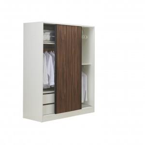 艾美爾 系統 4.8尺推門衣櫥【HG】